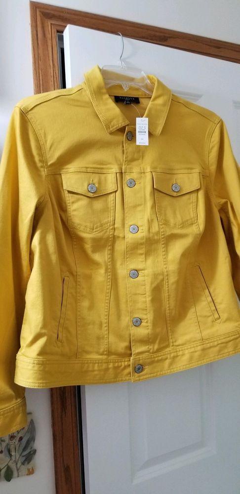 c3891301ed7 Talbots Denim Jean Jacket Sunflower Color 2X Plus  fashion  clothing  shoes   accessories  womensclothing  coatsjacketsvests (ebay link)