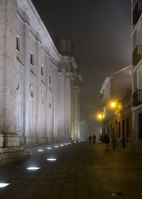 A path, Valladolid, Spain ∞ by Dmitry Shakin