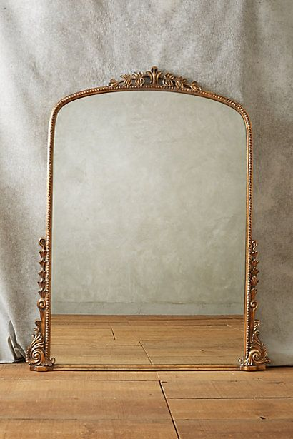 floor length mirror style for studio // Gleaming Primrose Mirror - anthropologie.com