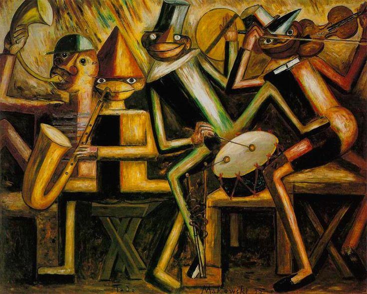 Tadeusz Makowski   Jazz, 1929, National Museum Warszawa
