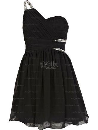 Black Prom Dress , needs to be longer