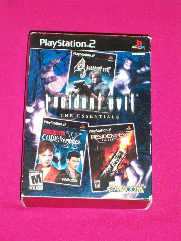 Resident Evil Essentials 4, Outbreak, Code Veronica, PS2 Game Sony PlayStation 2 | eBay