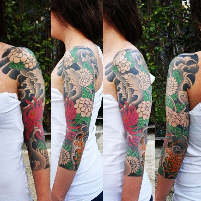 Japanese Sleeve Tattoos For Women | www.pixshark.com ... Japanese Sleeve Tattoos For Women