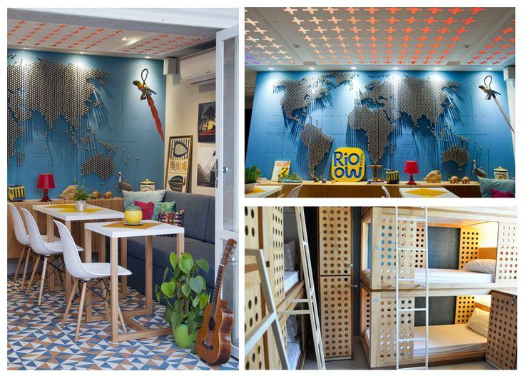 #Rioow #Hostel en Río! Un lugar ideal para conocer gente cuando  #viajes a Río de Janeiro con #Despegar.com #vuelosbaratos #hostels #trip #travel #brazil #brasil #viajar #verano #vacaciones