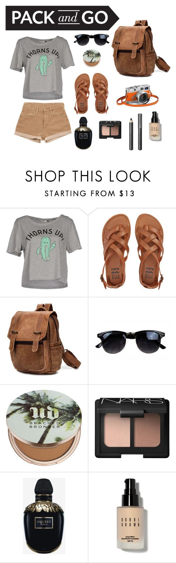 """""""#53 Mexico"""" by finrinel ❤ liked on Polyvore featuring ONLY, Wrangler, Billabong, Hermès, Urban Decay, NARS Cosmetics, Alexander McQueen, Bobbi Brown Cosmetics and Burberry"""