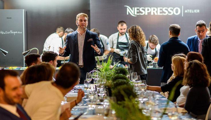 Εντυπώσεις από την επίσημη πρώτη του Atelier Nespresso στην Αθήνα.