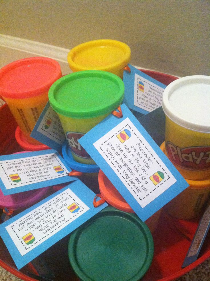 Open House Gift Idea~Cute back to school preschool gift