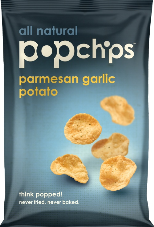 What could be better than a Parmesan Garlic Chip you don't have to feel guilty about? #popchips @Pop Chips