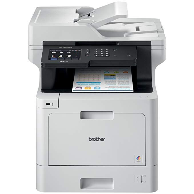Brother Mfc L8900cdw Business Color Laser All In One Printer Advanced Duplex Wireless Networking Business Printing Flexible Network Connectivity Mobile De
