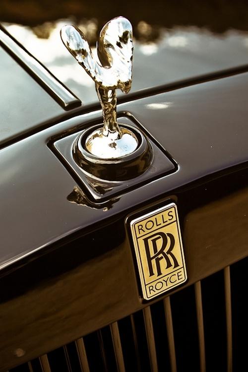 Rolls Royce ~ retractable hood ornament