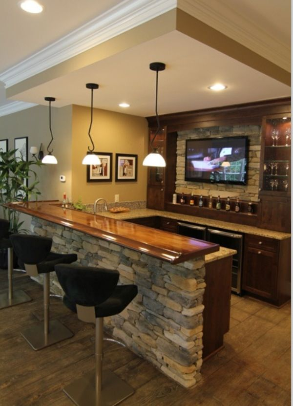 Man Cave Basement Bar : Man cave bar and caves on pinterest