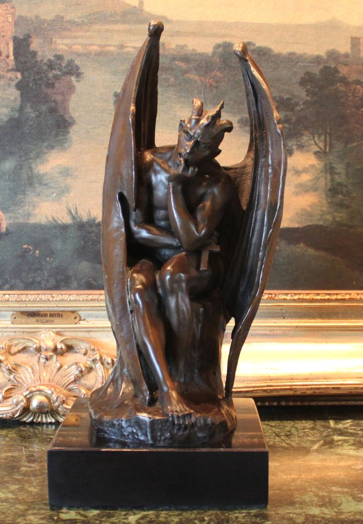 Marble Sculpture Lucifer