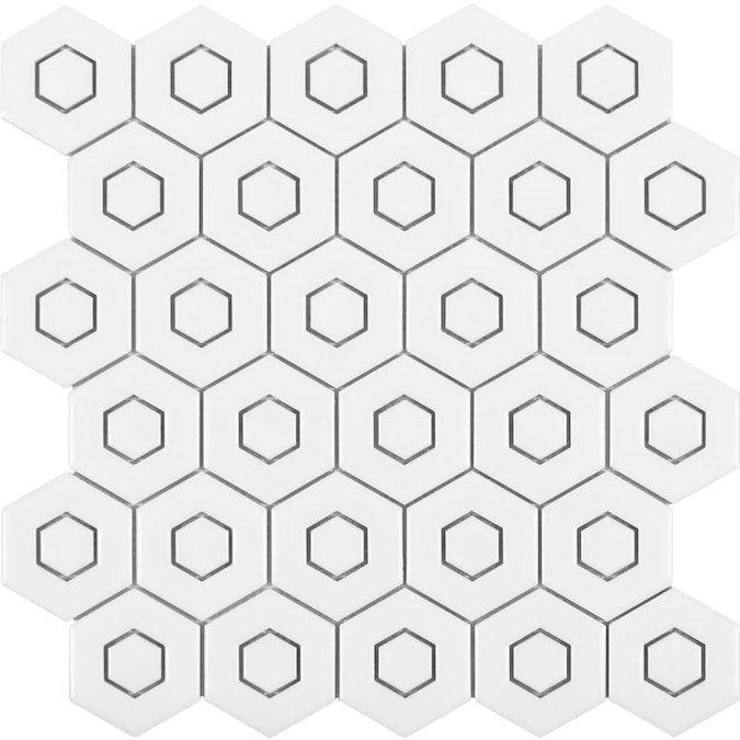 satori hudson brilliant white 12 in x
