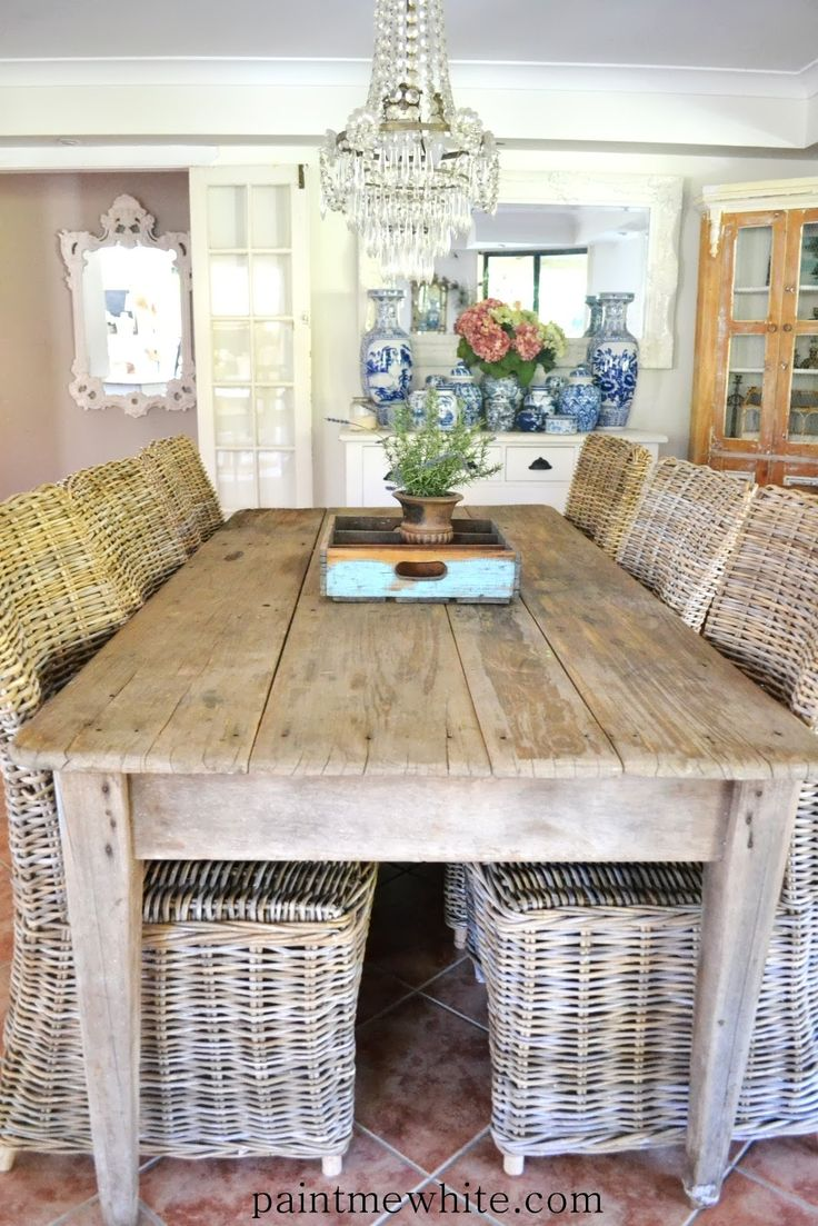 Rustic dining room table - Rustic Dining Room