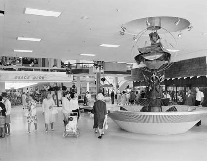 Roselands - largest shopping centre in the southern hemisphere back in 1964! Check out Grace Bros in the photo.