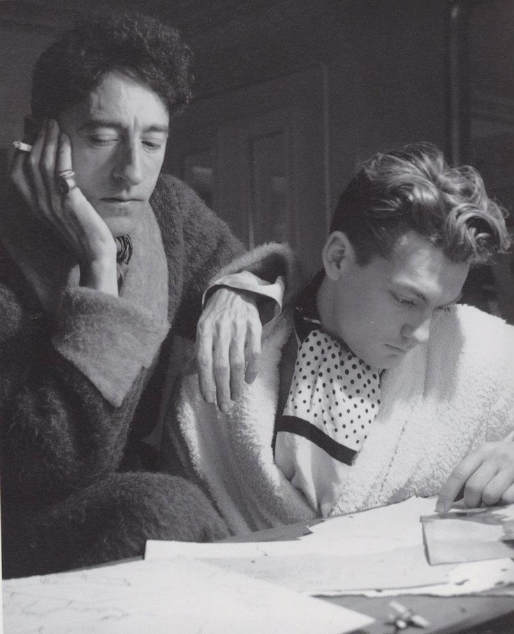 Jean Cocteau and Jean Marais, photographed by Beaton, 1930s