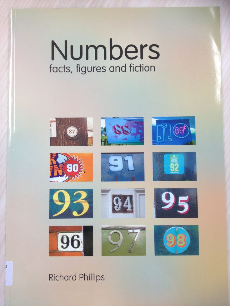 Excellent book about the numbers 0-200, information and interesting facts.