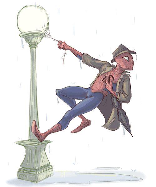 Singin in the Rain Spider-Man