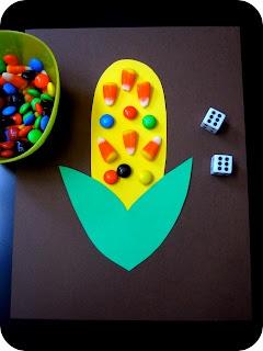 kindergarten math idea... cute addition introduction :)