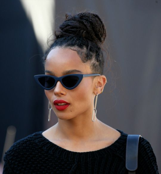 zoe kravitz - a little character inspiration for Savannah in book 1 of my new Slippery Rock Series