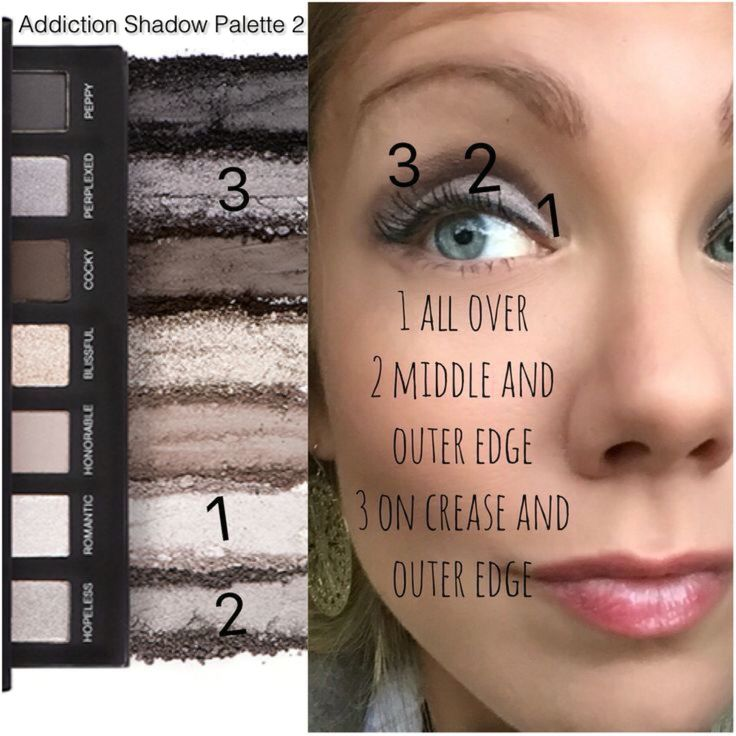 how to take eyeshadow palettes out