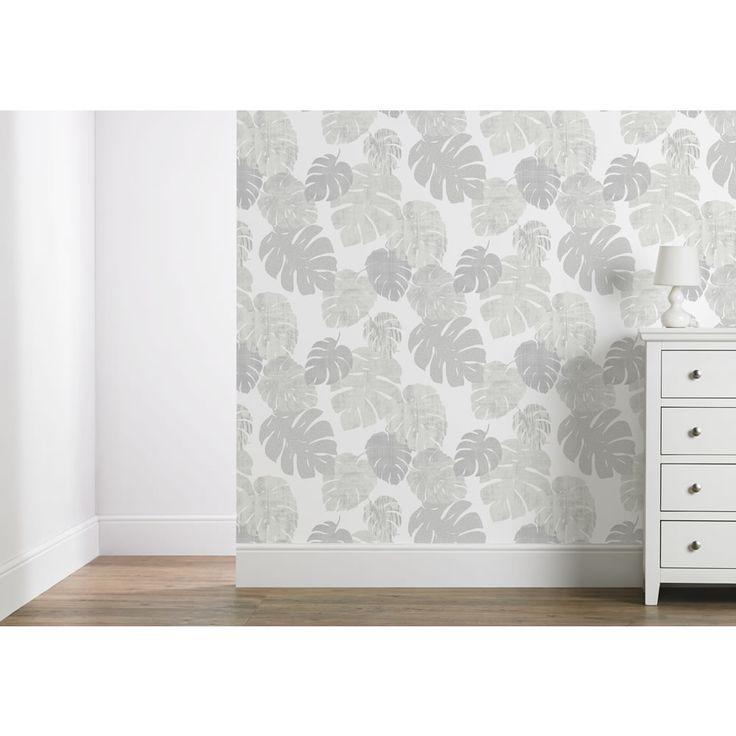 Geometric Wallpaper, Birch And Blankets
