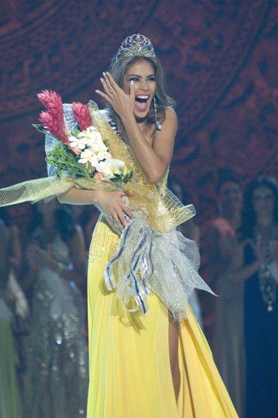 Miss Universo 2008. Dayana Mendoza, Miss Venezuela. GETTY
