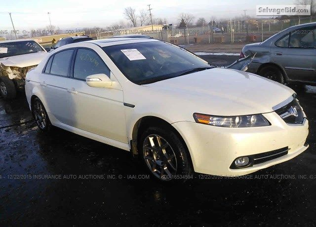 2008 #ACURA TL for Sale at SalvageBid #Auto Auction. Register to Bid Now!