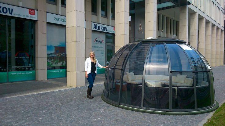 Alukov UK visited Showroom in Prague