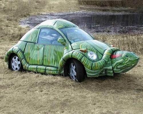 turtle car 14 Crazy Car Mods