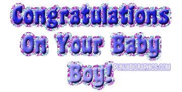 Congratulations On Baby Boy | PunjabiGraphics.com