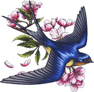 The swallow for my grandpa, who is a retired US Marine ...