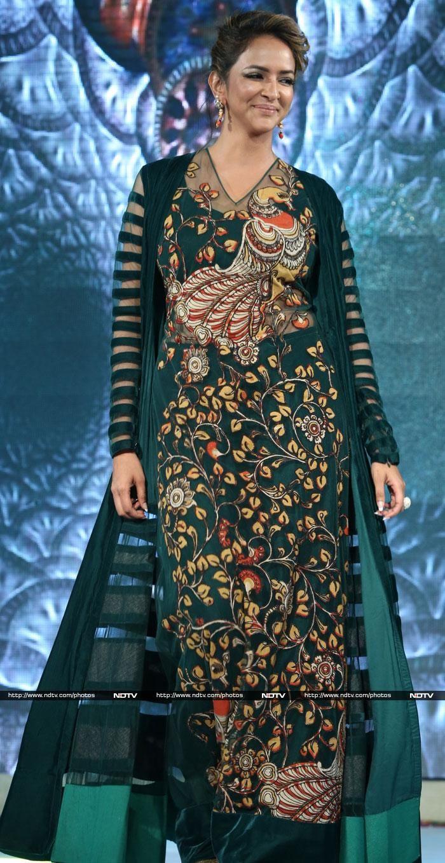 Telugu actress Lakshmi Manchu