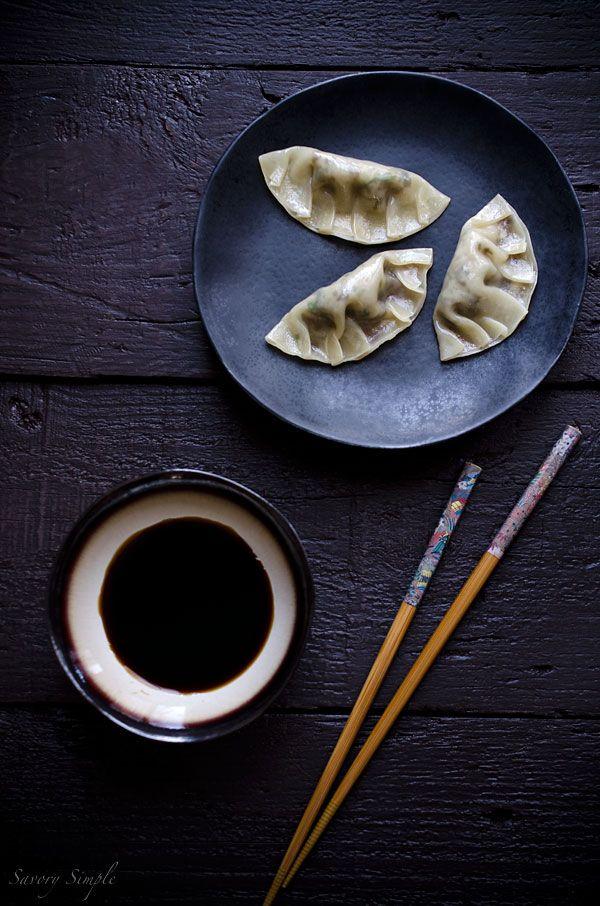 ... Gyoza Appetizer, Dimsum, Gyoza Recipe, Dumplings Potstickers Gyoza