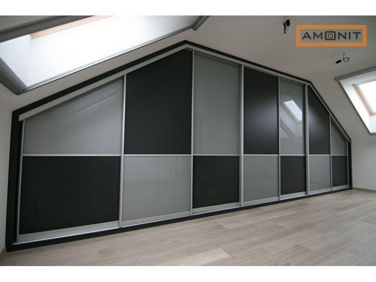 Máte atypický interiér? Vestavěné skříně na míru vyřeší váš problém i na půdě.