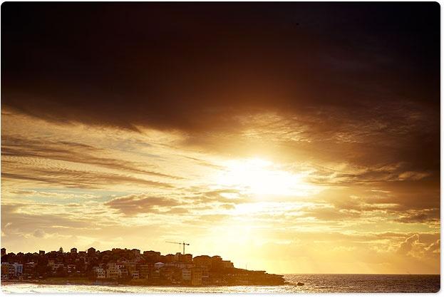 I sight I miss very much. Bondi Beach.