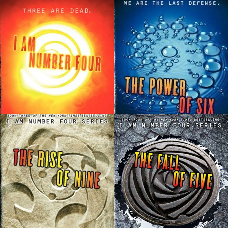 I am Number Four Series: I am Number Four, The Power of Six, The Rise of Nine, & The Fall of Five. By: Pitticus Lore