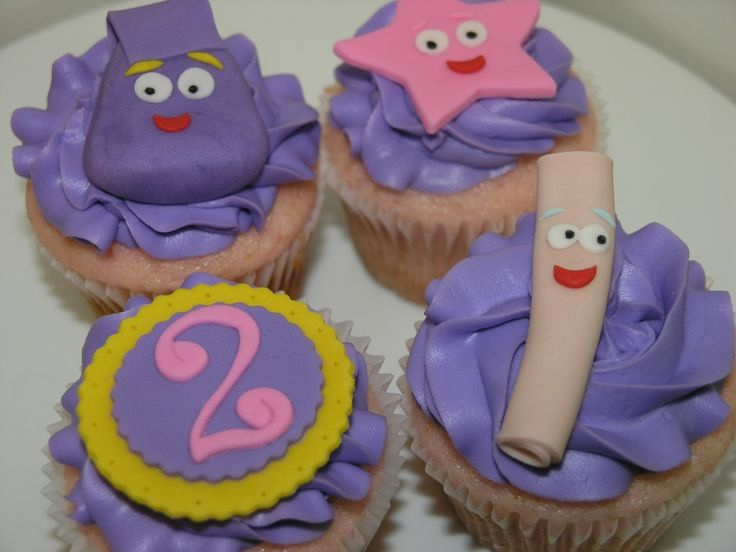 Dora Cupcakes - Limited Edition Cakes