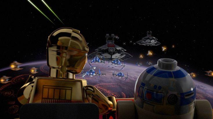 Lego Star Wars The Padawan Menace Desktop