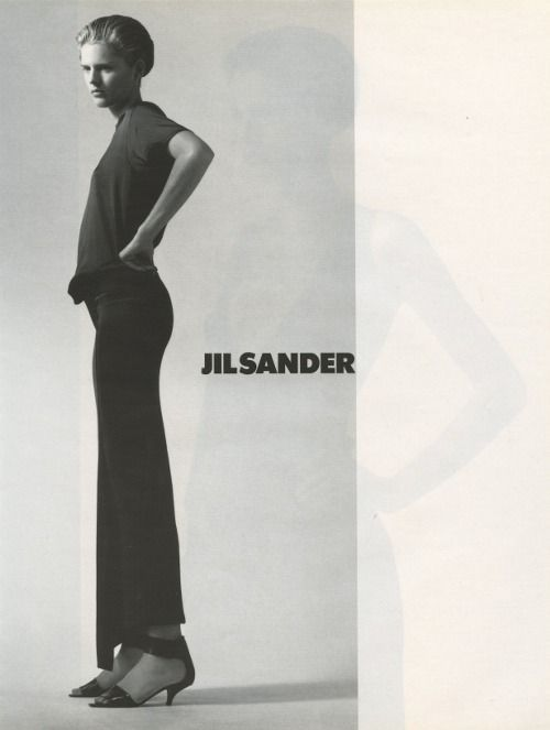 Stella Tennant for Jil Sander S/S 1997, by David Sims