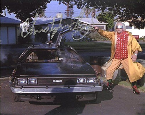 Christopher Lloyd BACK TO THE FUTURE In Person Autographed Photo @ niftywarehouse.com #NiftyWarehouse #BackToTheFuture #Movie #Film #Movies #Gifts