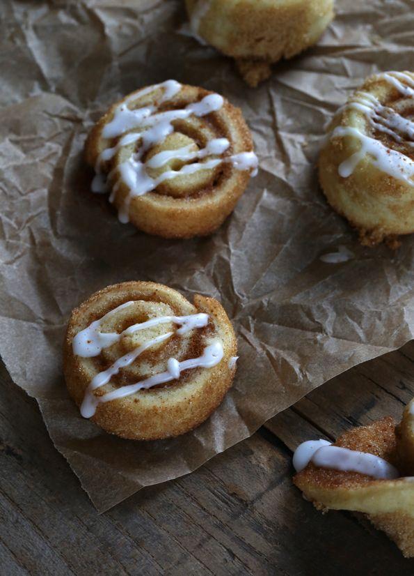 Gluten Free Cinnamon Roll Sugar Cookies