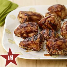 WW Perfectly Barbecued Chicken Breasts:  8 servings; 3 points+ per serving