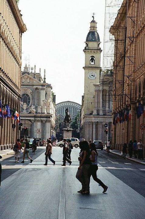 Via Roma Turin italy