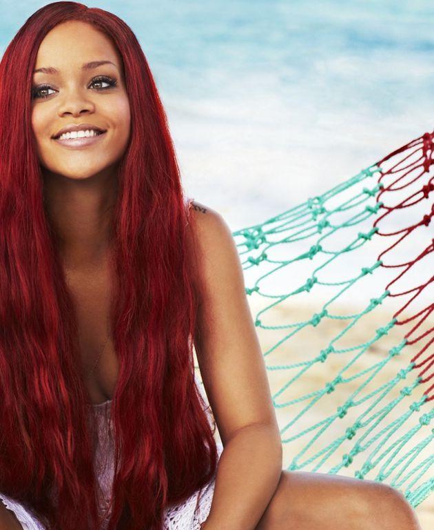 Rihanna <3 (Ariel hair)