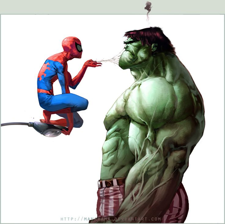 I adore the Hulks face here. He does not approve.