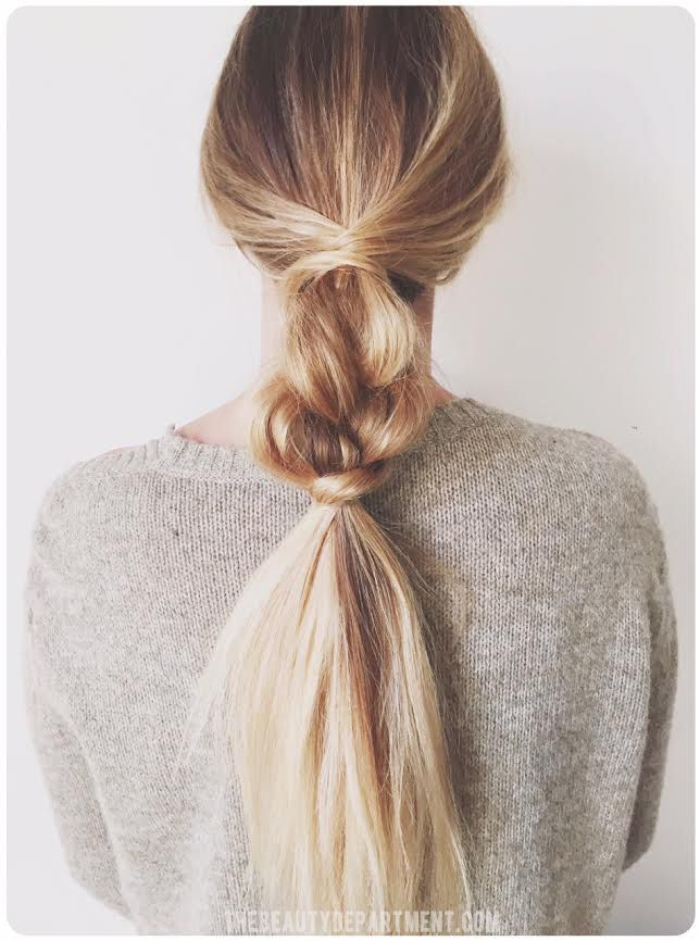 Easy braid / The Beauty Department