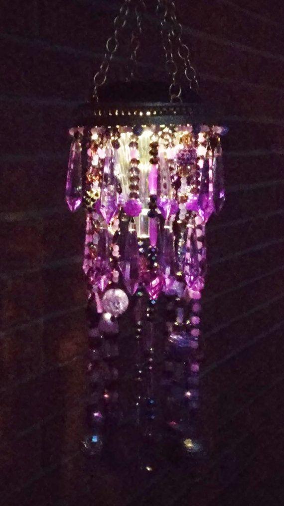 17 best images about diy wind chimes suncatchers for Diy solar wine bottle lights