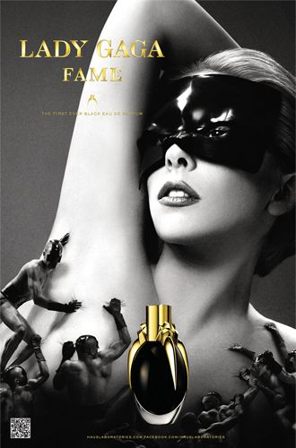 The Best Celebrity Perfumes: Lady Gaga made her fragrance debut in 2012 with Fame.