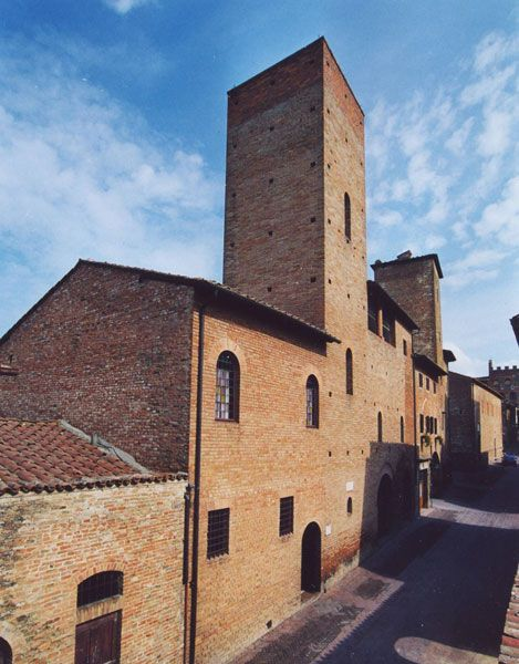 Casa del Boccaccio a Certaldo